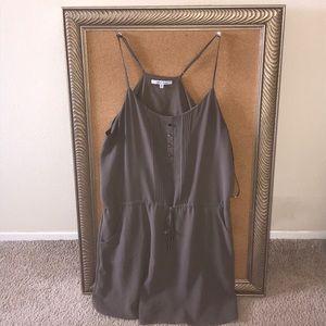 Naked zebra razorback dress